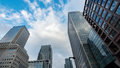 Modern Office Buildings In The Financial District Of The Docklands In London Royalty Free Stock Image - 90163786