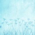 Beautiful Art Decorative Floral Blue Background Royalty Free Stock Images - 90209499
