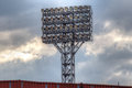 Stadium`s Lighting Tower Royalty Free Stock Photo - 90230175