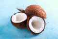 Raw Fresh Coconut, Stock Image - 90234711