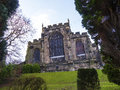 St Marys, Lancaster Priory Church Is Close By The Castle Above The City In England Stock Photo - 90236300