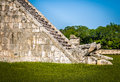Snake Detail Of Mayan Temple Pyramid Of Kukulkan - Chichen Itza, Mexico Royalty Free Stock Photo - 90236575