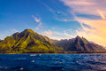 Dramatic Landscape Of Na Pali Coast, Kauai, Hawaii Royalty Free Stock Photography - 90240547