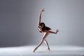 Ballerina Dancing In The Darkness Stock Photography - 90244592
