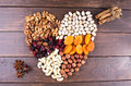 Nuts And Dry Fruits Royalty Free Stock Photo - 90246755