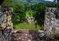 View Of Grand Plaza In Mayan Ruins - Copan Archaeological Site, Honduras Royalty Free Stock Photos - 90251788