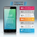 3D Infographic. Smartphone Icon. Royalty Free Stock Image - 90262996