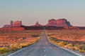 The Road To Monument Valley Royalty Free Stock Image - 90291996