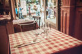 French Cafe Stock Images - 90297104