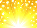 Yellow Background With Stars Stock Photo - 90300830