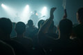 Blur Defocused Music Concert Crowd As Abstract Background Stock Images - 90339694