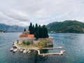 The Island Of Gospa Od Skrpjela, Kotor Bay, Montenegro. Aerial S Stock Photography - 90403612