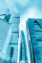 Moscow City International Business Center In Russia Royalty Free Stock Photography - 90417927