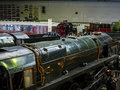 Exhibits In The National Railway Museum In York, Yorkshire England Royalty Free Stock Photography - 90421597