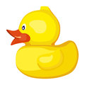 Rubber Ducky For Bath Stock Images - 90421634