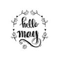 Hello May Royalty Free Stock Images - 90427209