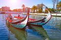 Traditional Boats In Vouga River. Aveiro Stock Photography - 90428522