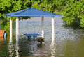 Flooding In A Park Stock Photos - 90434943