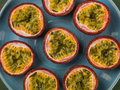 Selection Of Fresh Tropical Passion Fruits Stock Images - 90435534