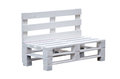Bench Pallets On A White Background Stock Photos - 90459653