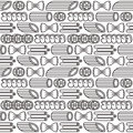 Seamless Pattern With Varieties Of Pasta Royalty Free Stock Images - 90475659