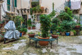 Courtyard In Syracuse Stock Photography - 90580782