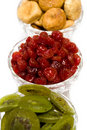 Cherry, Fig And Kiwi Royalty Free Stock Images - 9066519