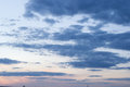 Clouds In The Evening Sky Royalty Free Stock Photography - 90620297