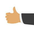 Thumbs Up Vector Illustration. Stock Image - 90641631