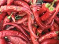 Red Chili Peppers Stock Images - 90655474