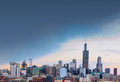 City Of Chicago With Free Space, Illinois Royalty Free Stock Photo - 90716735