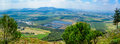 Jezreel Valley Landscape, Viewed From Mount Precipice Stock Image - 90734851