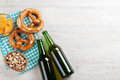Lager Beer And Snacks Royalty Free Stock Image - 90743566