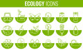 Ecology Icons Set. Icons For Renewable Energy, Green Technology. Hand Drawn. Vector Royalty Free Stock Photo - 90755485