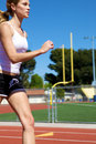 Athletic Girl Running Royalty Free Stock Photography - 9080997