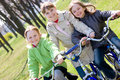 Girls On Bicycles Stock Image - 9084031