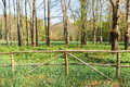 Old Wooden Fence At Ranch Stock Photos - 90803663