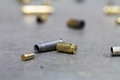 Spent Shell Casings. Royalty Free Stock Photos - 90808128