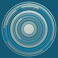 Concentric Circles Over Bright Bluish. Royalty Free Stock Image - 90816736