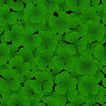 Seamless Pattern With Clover Leaves Royalty Free Stock Images - 90837869