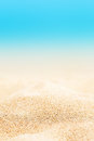 Summer Background - Sunny Beach With Golden Sand Stock Photography - 90852152