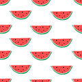 Watermelon Hand Drawn Seamless Pattern. Stock Images - 90854474