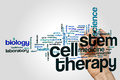 Stem Cell Therapy Word Cloud Stock Photo - 90881010