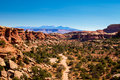 Elephant Hill Road Needles District Of The Canyonlands National Park In Utah. Royalty Free Stock Photos - 90895948