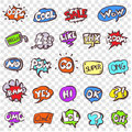 Vector Doodle Speech Clouds Icons Set Royalty Free Stock Photography - 90913317