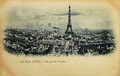 Rare Vintage Postcard With View On Eiffel Tower From Trocadero In Paris, France Royalty Free Stock Photos - 90933368