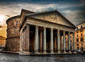 Ancient Roman Pantheon Royalty Free Stock Photography - 90940617