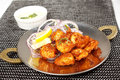 Fried Prawn In Battered With Pickled Onion Royalty Free Stock Photo - 90947055