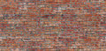 Seamless Pattern Old Red Brick Wall Texture Royalty Free Stock Photo - 90960155