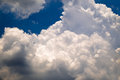 Blue Sky With Fluffy Clouds Stock Images - 90982174